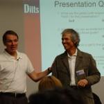 PR+Branding+Modeling: Robert Dilts und Michael Tschugg (rechts)